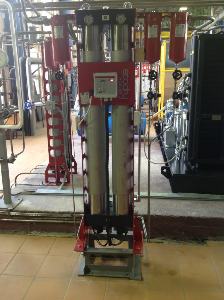 Осушитель адсорбционный высокого давления Zander HDK-MT 50-350