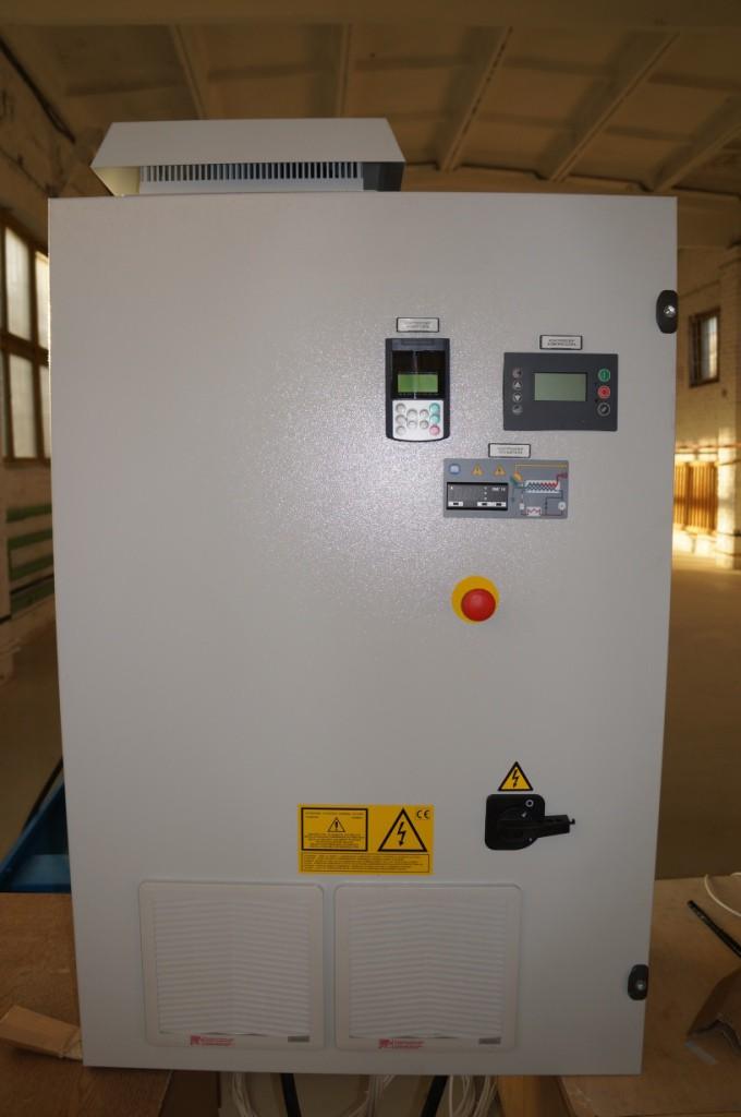 Панель управления винтового газового компрессора