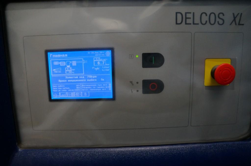 Панель управления Delcos XL