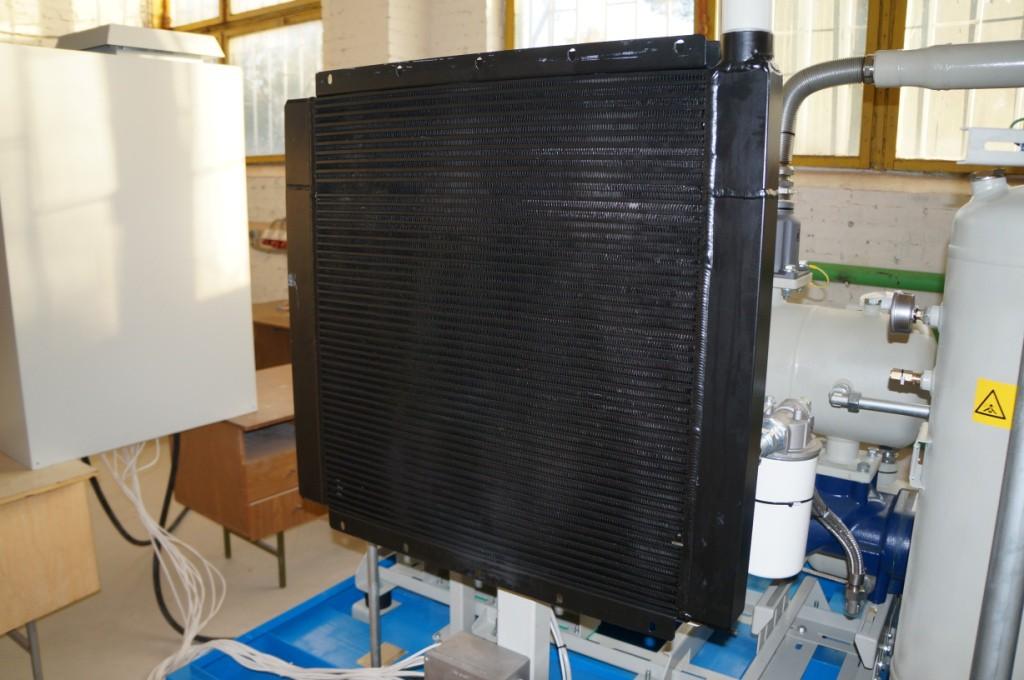 Радиатор винтового газового компрессора