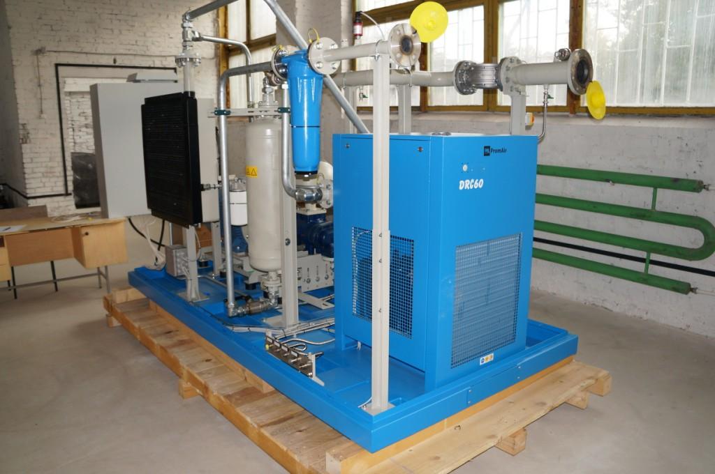 Рефрижераторный осушитель винтового газового компрессора
