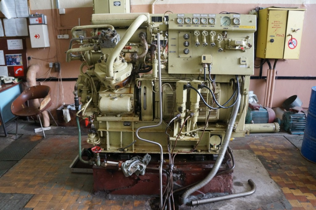 Фундамент поршневого компрессора