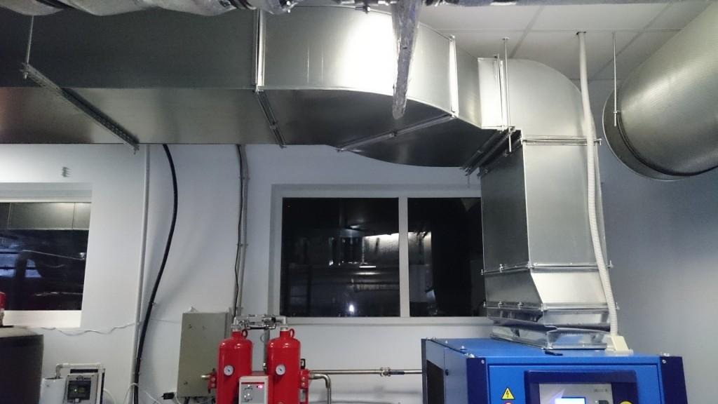 Вентиляционная шахта для компрессора CompAir DH22-RS