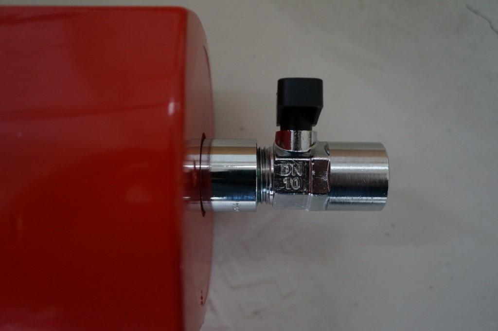 Кран ручной Zander HV15 (DN10)