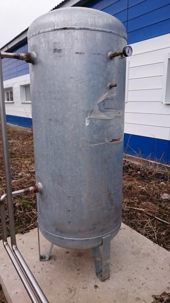 Ресивер оцинкованный 900 литров
