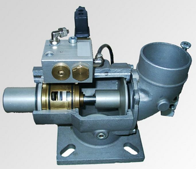 Всасывающий клапан винтового компрессора