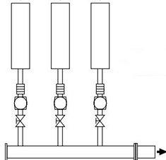 Правильное подключение нескольких компрессоров: