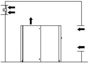 Отвод теплого воздуха из помещения при помощи вентилятора
