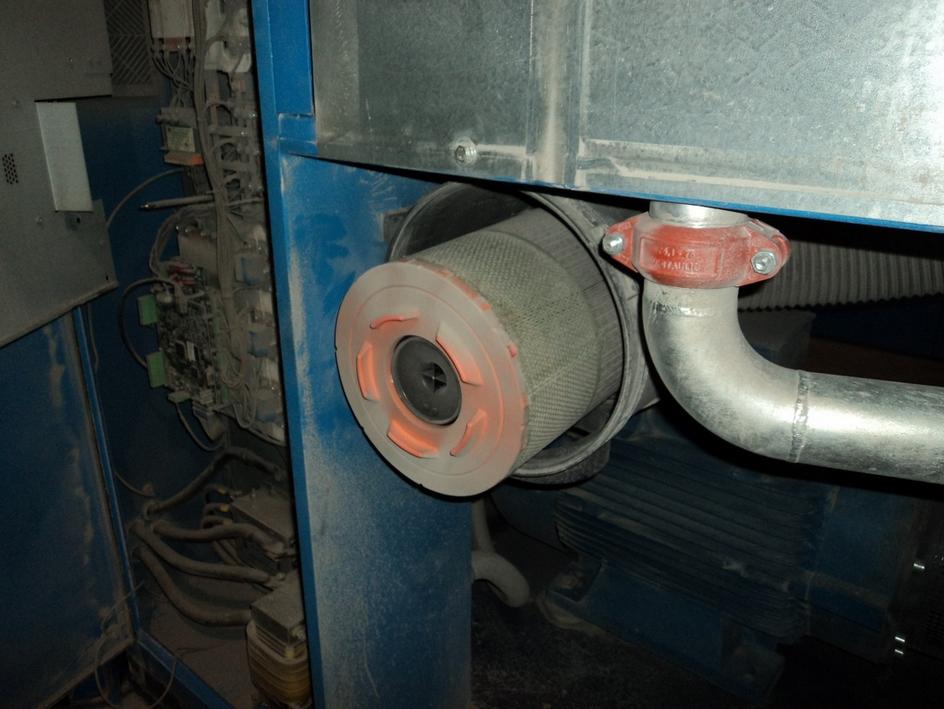 Запыленный воздушный фильтр