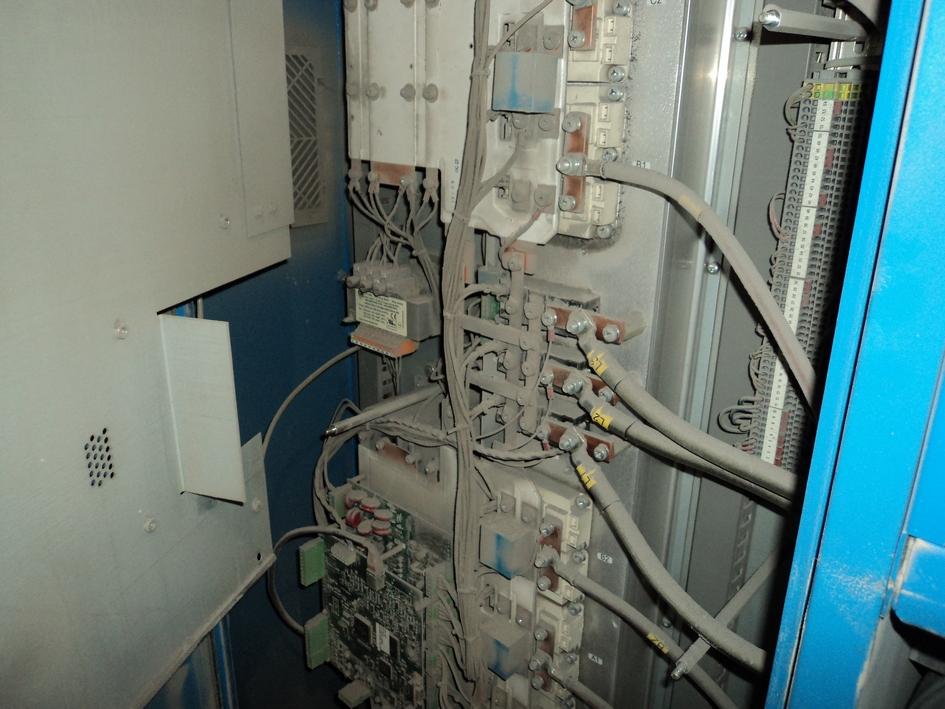 Пыль в электрическом щите компрессора