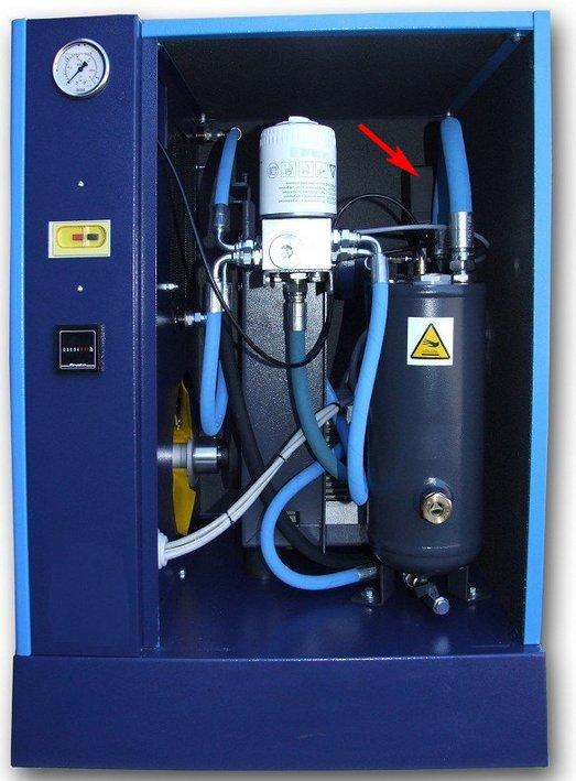 Винтовой компрессор мощностью 3 кВт