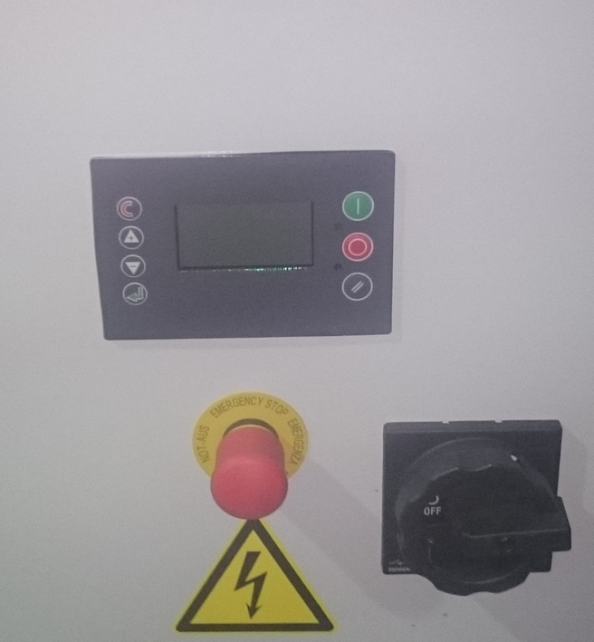 Пример панели со специализированным контроллером