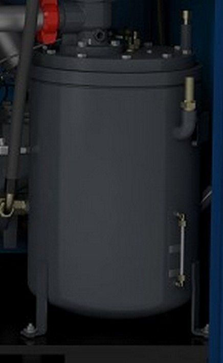 Вертикальный разборный масляный резервуар