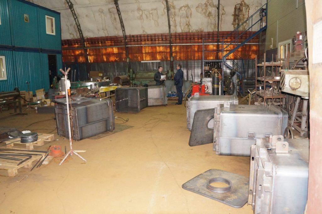 Производственная площадка в г. Санкт-Петербург