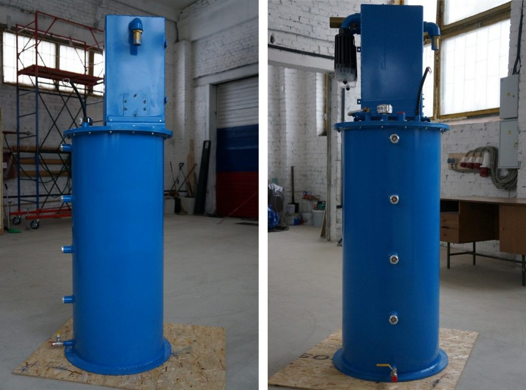Демистор для водородного компрессора на основном складе перед отгрузкой Заказчику